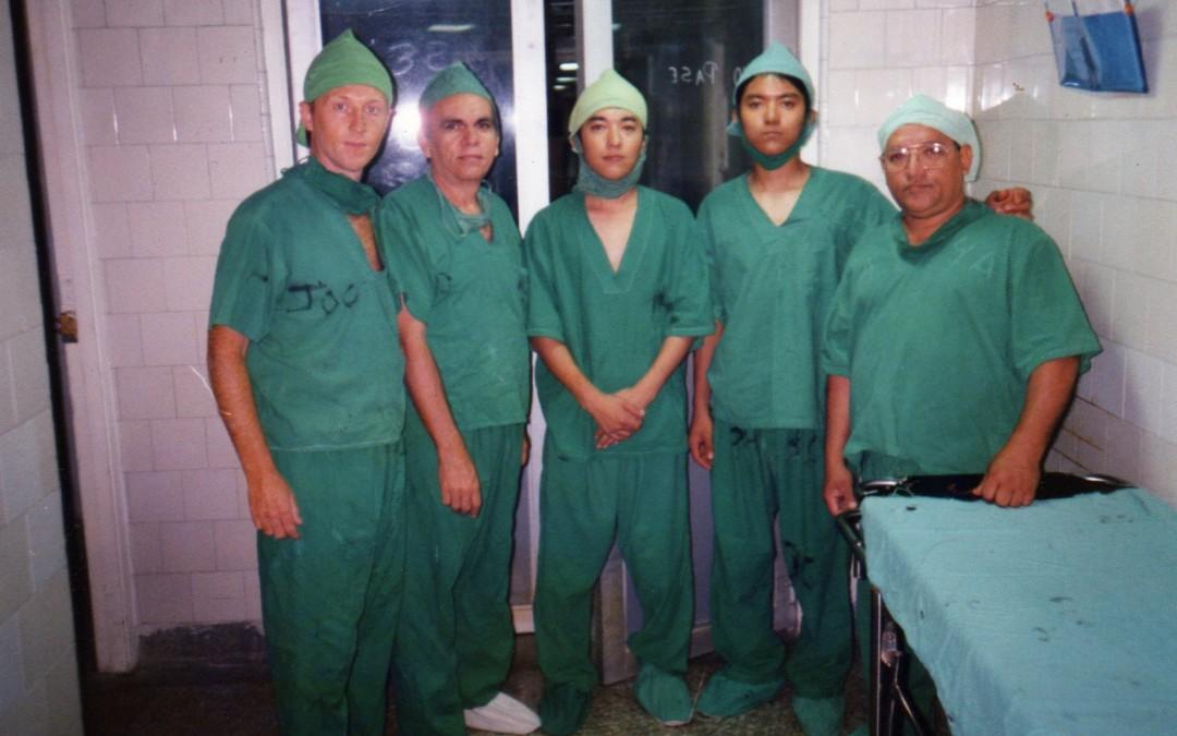 Viaje de practicas clinicas Cuba. Febrero del 2001