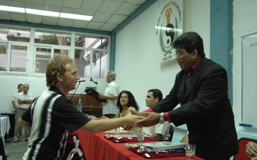 VI Congreso Internacional de Medicina Tradicional Natural Y Bioenergética en Holguín, Republica de Cuba.
