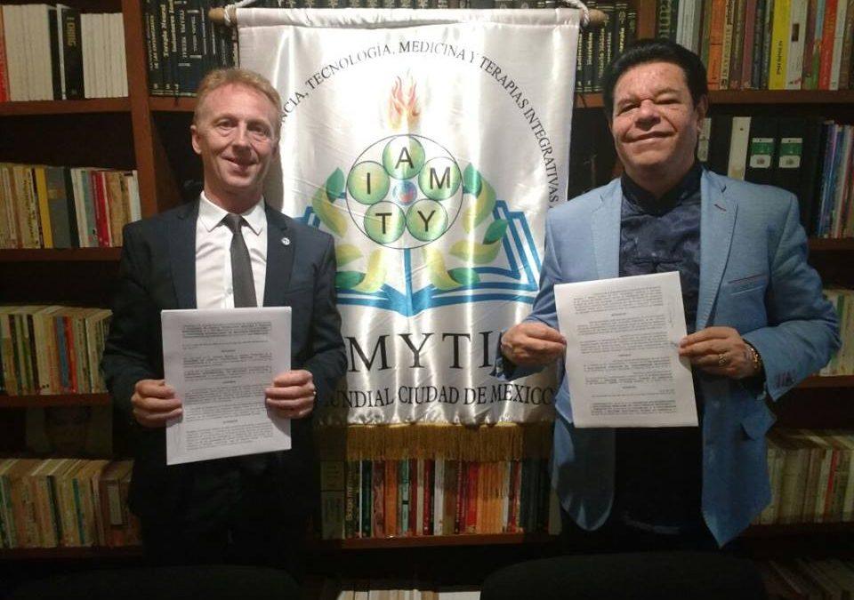 Convenio de colaboración y afiliación de asociados con la Academia de Ciencia, Tecnología, Medicina y Terapias integrativas, A.C (de México)