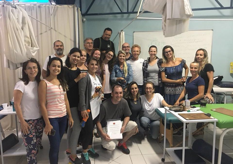 Curso de Acupuntura Abdominal en CIEPH Brasil